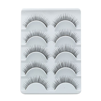 Charming Black  Human Hair Eyelash