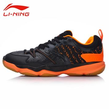 Li-Ning Men RANGER TD Badminton Training Shoes TPU Support Breathable Sneakers Li Ning LINING Professional Sports Shoes AYTM081