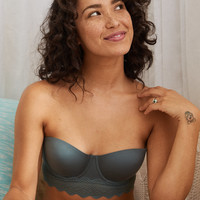 Sunnie Longline Strapless Lightly Lined Bra , Royal Palm