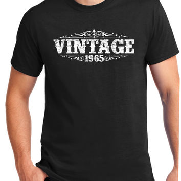 VINTAGE 1965 Shirt - Tee -for son- T-Shirt - Gift for Him - Funny -geat gift- brother