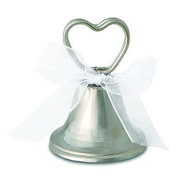 Wedding Bell Place Card Holders Set of 12