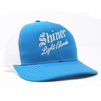 Light Blonde Trucker