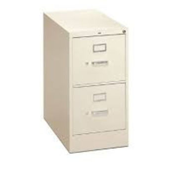 "HON 410 Series H412PQ Vertical File - 15"" x 22"" 26.06"" Steel 2 Drawer"