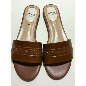 Fendi Girl student Fashion Slippers