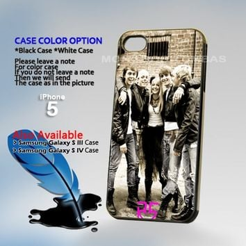 R5 Band Photo Hard Plastic iPhone 5 Case Cover