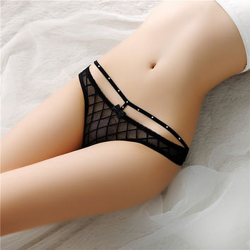 Sexy Lace G String Women Thongs Panties Intimates Women Underwear Briefs Hollow Girl Thong Lady Lace Lingerie Culotte Femme