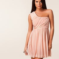 Drape One Shoulder Dress, Club L