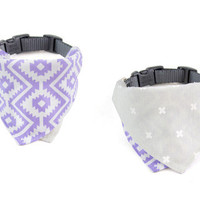Calidreamin / Sierra Purple Dog Bandana Collar