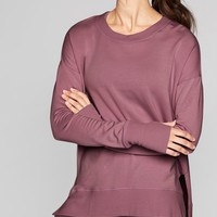 Coaster Luxe Sweatshirt | Athleta
