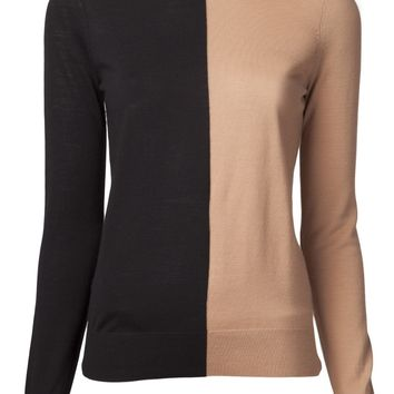 Michael Kors Colorblock Crew Neck Sweater