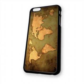 world map Vintage Patern for iphone 6 case