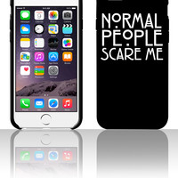 Normal People Scare Mesw 5 5s 6 6plus phone cases