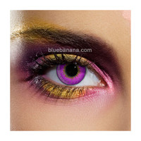 Edit Violet Tri-Tone Coloured Contact Lenses, fashion lenses UK