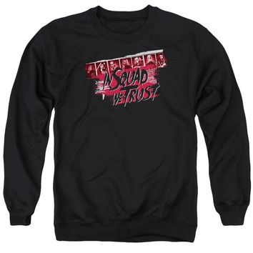 Suicide Squad - In Squad We Trust Adult Crewneck Sweatshirt Officially Licensed Apparel
