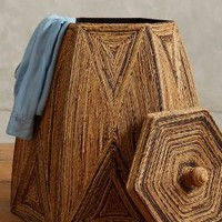 Taman Laundry Basket by Anthropologie in Natural Size: One Size Office