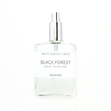 Black Forest Hair Perfume   Deep Woods   100% natural and vegan