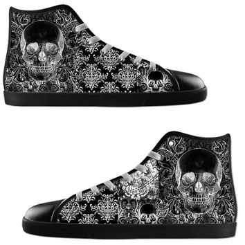 Quilted Skull High tops