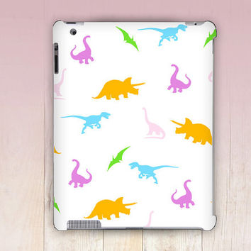 Candy Dinosaurs iPad Case For - iPad 2, iPad 3, iPad 4 - iPad Mini - iPad Air - Mandala