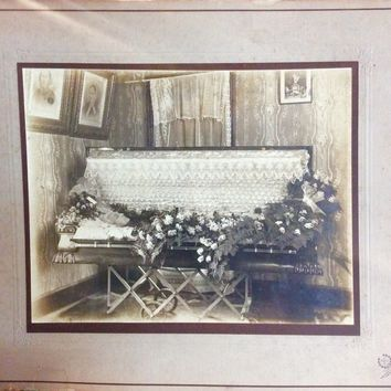 Large Antique Post-Mortem Photo