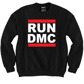 Run DMC Unisex Crewneck Funny and Music
