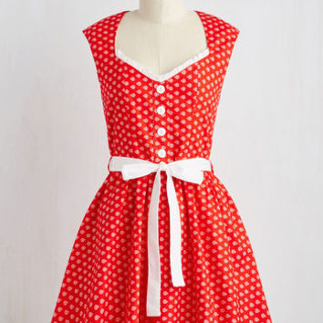 Quick on your Sweet Dress in Ladybugs