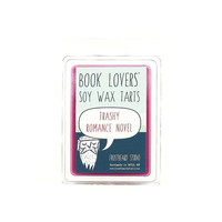 Trashy Romance Novel -- Booklover's Scented Soy Tart  Wax Melt -- 3oz pack