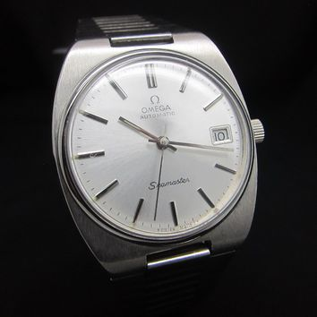 Vintage Omega Seamaster Grey Cal.1022 Swiss Automatic Watch-Serviced