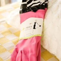 Scrub A Dub Rubber Gloves                    - Francesca's Collections