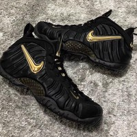 "Nike Air Foamposite Pro ""Black/Metallic Gold"" - Best Deal Online"