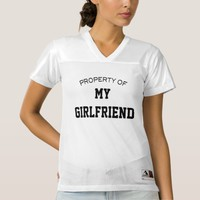 Property of My Girlfriend Customize Text