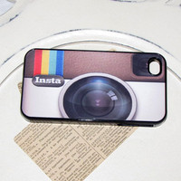 Instagram Addict Iphone 4 / 4s Case Cell Phone Cover - SALE
