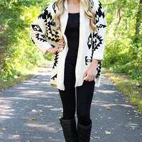 Falling from Summer Cardi - Ivory