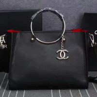 """Chanel"" women shopping shoulder bag female inclined shoulder bag black two piece G-3A-XNRSSNB"