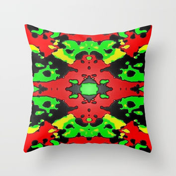 Consensus Throw Pillow by Phinilez