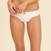 Girls Gilly Hicks Lace Cheeky | Girls Gilly Hicks | HollisterCo.com