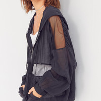 Silence + Noise Sport Zip Popover Top | Urban Outfitters