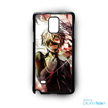 Tokyo Ghoul Kaneki White Hair for Samsung Galaxy Note 2/Note 3/Note 4/Note 5/Note Edge phone case