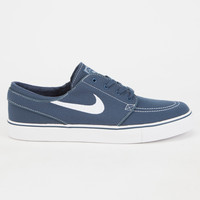 Nike Sb Zoom Stefan Janoski Canvas Mens Shoes Blue Combo  In Sizes
