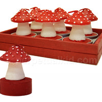 TOADSTOOL TEALIGHTS