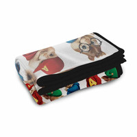 Alvin And The Chipmunks Road Chip Fleece Blanket Kids Blanket