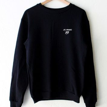 Los Angeles '89 Oversized Sweatshirt