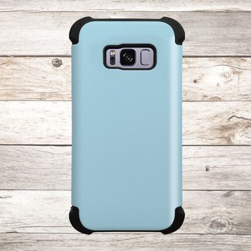 Solid Color Light Blue for Apple iPhone, Samsung Galaxy, and Google Pixel