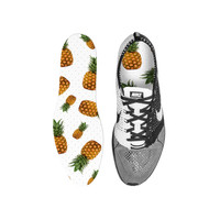 Pineapple Frenzy Custom Insoles