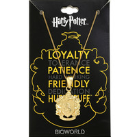Harry Potter Hufflepuff Chain Necklace