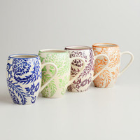 Sophia Mugs, Set of 4