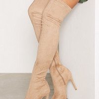 Platform Over Knee Boot, NLY Shoes