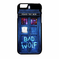 Tardis Dr Who Bad Wolf iPhone 6 Plus Case