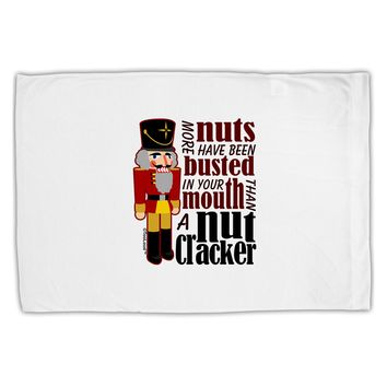 More Nuts Busted - Your Mouth Standard Size Polyester Pillow Case by TooLoud
