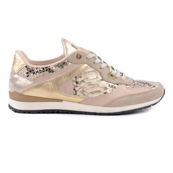 Sacha Beige sneakers - THE RUNAWAY