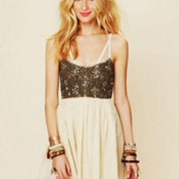 One Teaspoon Goldrush Slip at Free People Clothing Boutique